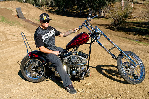 Brian Deegan Custom chopper