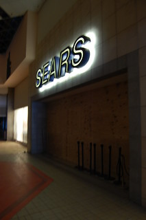 Livonia Mall- Boarded up Sears entrance | by senor miller