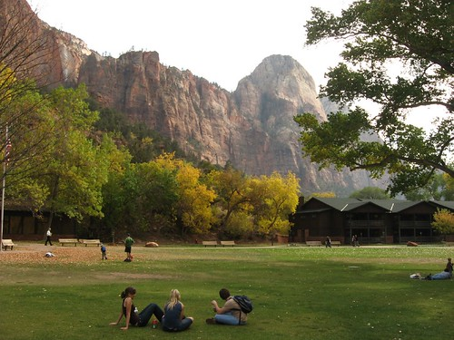 Zion Lodge, Zion National Park, Utah | by Ken Lund
