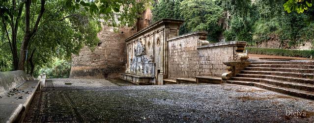 Fuente de Carlos V (Alhambra de Granada)