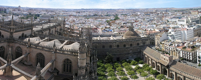 Sevilla - panorama from the Giralda 2