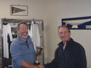 Don Harland winner of the 2010 Winter Series Trophy | by PLSC (Panmure Lagoon Sailing Club)