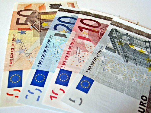 Euro Denominations   by Images_of_Money