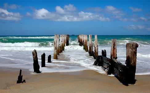 beach   by modernlifeis_vintage