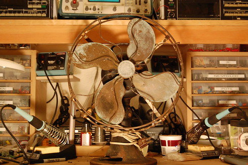 Antique Fan | by eschlaep
