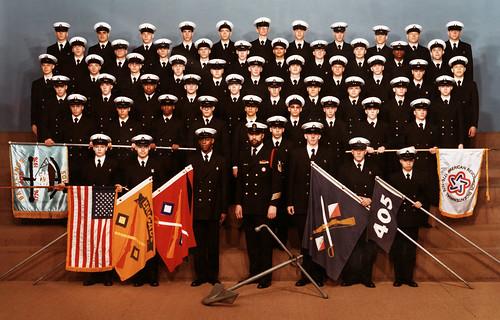 Company 405, Great Lakes NTC, 1975-76
