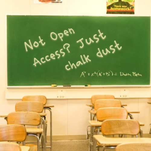 Open Access Chalkboard | by Gideon Burton