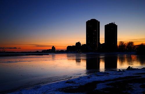 sunset toronto nikon sigma nd condos lakeontario 1020mm d40x
