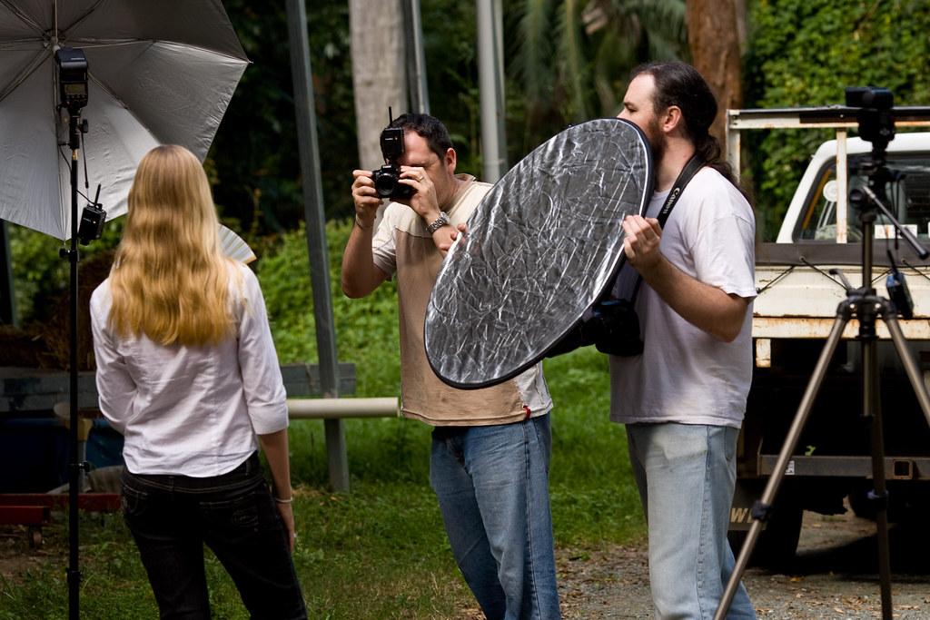 Image: Kara Portrait Session: Behind the Scenes #2