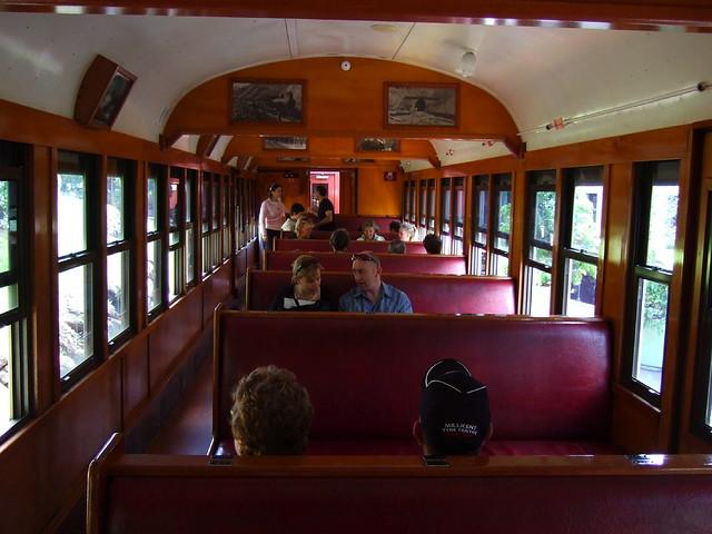 Kuranda to Cairns railway