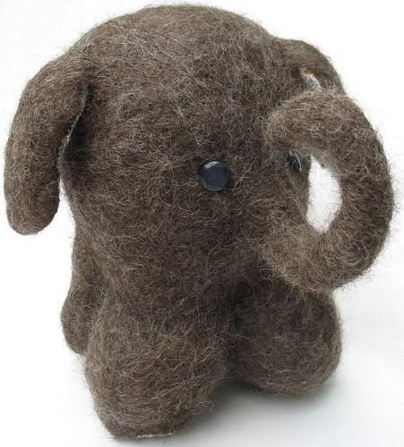 Tiny wool elephant | by tamdolloriginal
