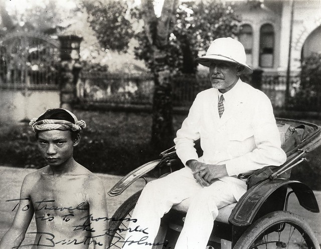 In the Far East, 1929