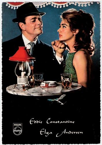 Eddie Constantine, Elga Andersen