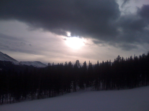 trees pine sunrise rockies skiing breckenridge lodgepole