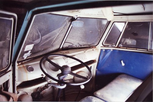 1966 Double Cab VW Bus Truck in Irving, Texas - view into ...