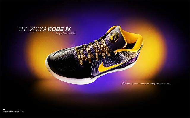 ad38d16fe962 ... Nike Zoom Kobe IV Carpe Diem Edition Wallpaper