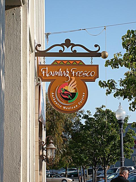 Flaming Fresco Restaurant in Redwood City