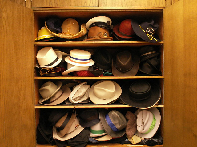 too many hats?