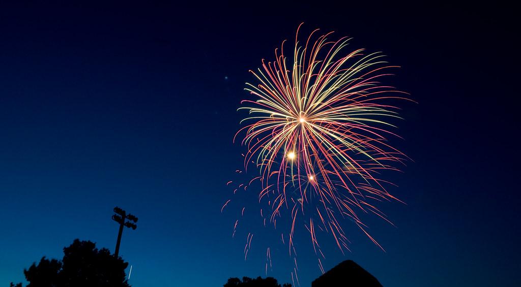 Fair Lawn Fireworks 2008-2