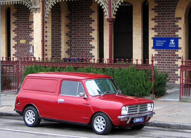 Leyland Mini Clubman Van Parkville Australian Leyland Min Flickr