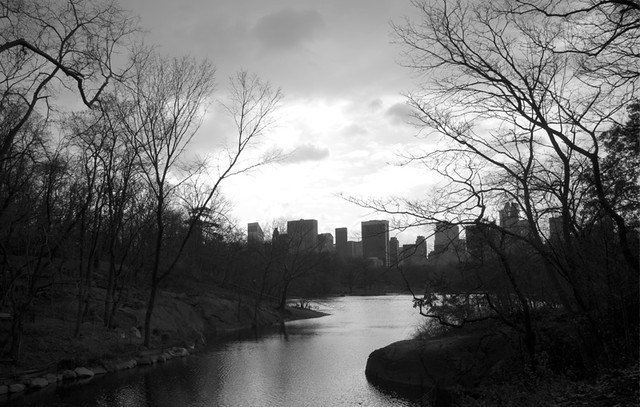 Black-and-white- NYC