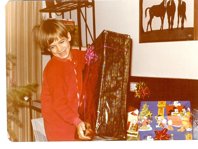 My Son Gets Huge Christmas Package - No Doubt a Star Wars Space Station - 1977