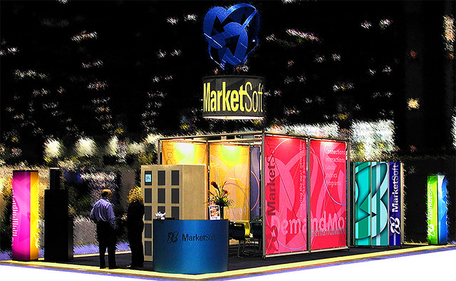 Marketsoft 20'x40' Custom Showbooth by Phil Manker | Flickr