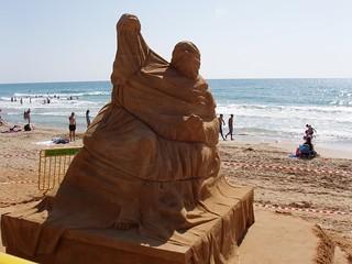 Sand Sculpture  in Haifa