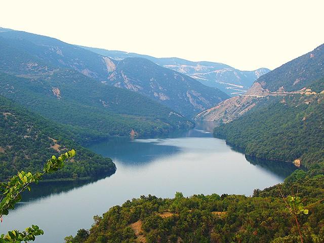 Αλιάκμονας / River Aliakmonas in northern Greece (Macedonia)