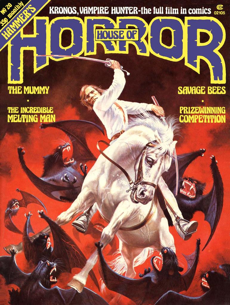 The House Of Hammer house of hammer magazine (house of horror) - issue 20 (198
