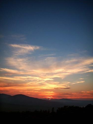 camden maine mtbattie sunset knoxcounty