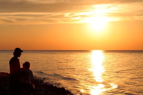 park sunset sky people orange color tree water cleveland backlit tamron lakecounty aprevit
