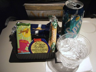 In-flight Snack by US Airways