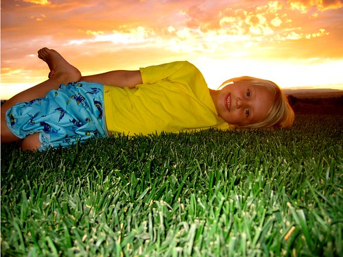 sunset kid kids child youth smile happy