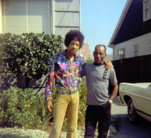 jimi and his dad