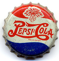 Pepsi-Cola Bottle Cap, 1940's | by Roadsidepictures