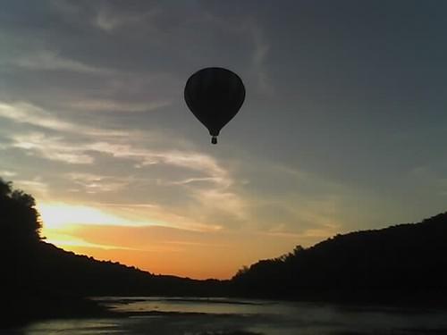 sunset vermont balloon connecticutriver