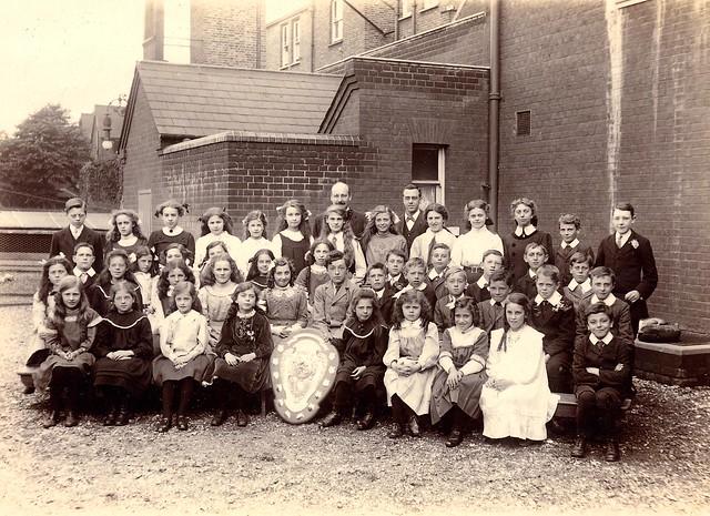 Sunday School 19 June 1912 Wimbledon Baptist Church