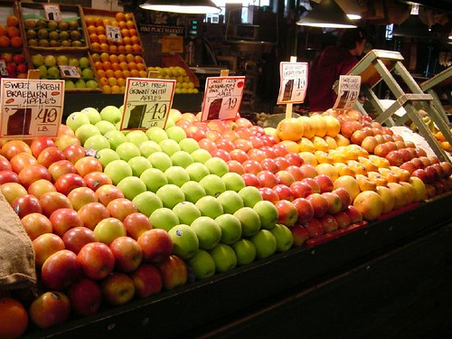 Apples, Pike Street Market, Seattle | by glennharper
