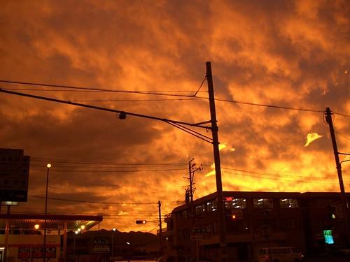 "sunset ic eveningsun shizuoka 夕日 exz55 夕焼け 静岡 ""shizuoka ryoflickr ic静岡icgeotaggedgeolat34943837geolon1383939492005092420050924 sunsetshizuoka"
