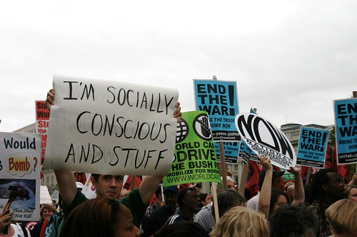 i'm socially conscious and stuff | by Joe in DC