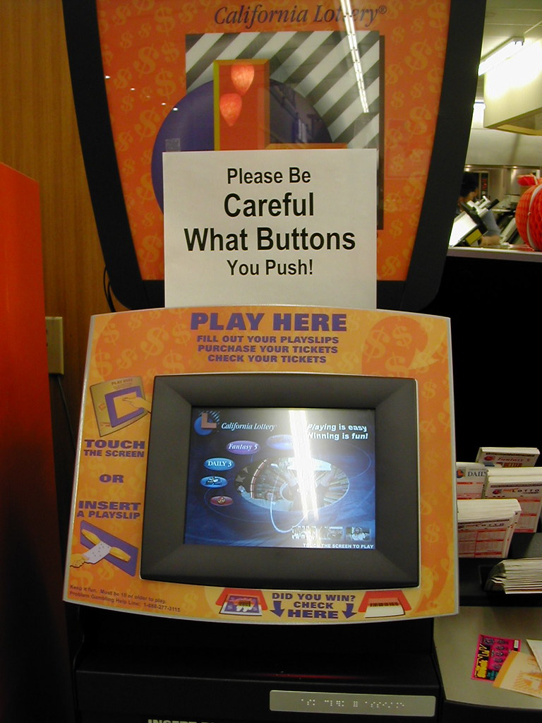 Lotto Machine Usability | This was taken in November 2003 af… | Flickr
