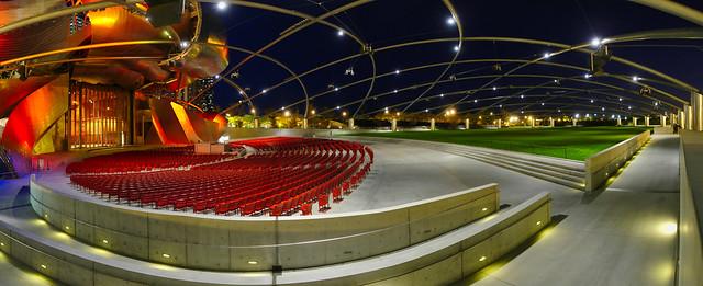 Chicago - Pritzker Pavilion in Millennium Park