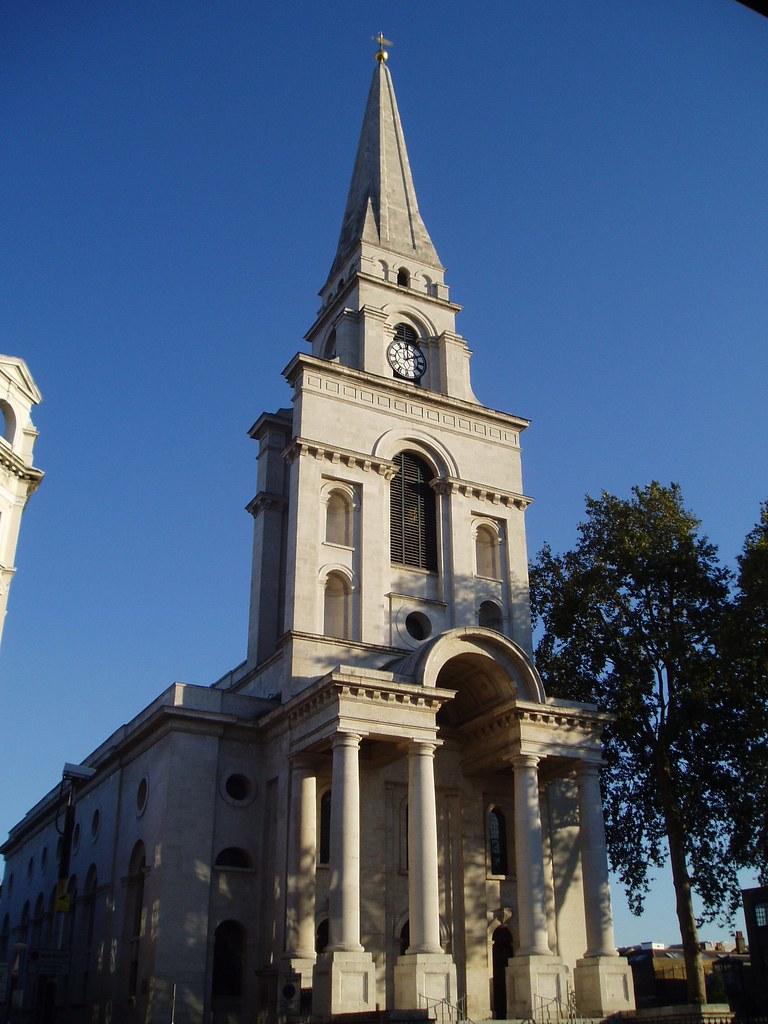 Spitalfields London: Christ Church, Spitalfields, London By Nicholas Hawksmoor