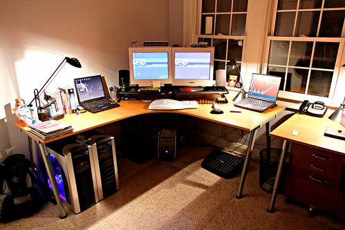 Home Office - My Desk - Old 2005 | by fensterbme