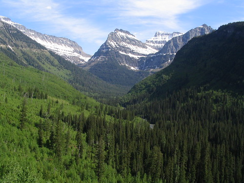 U-Shaped Valley, Going-to-the-Sun Road, Glacier National Park, Montana | by Ken Lund