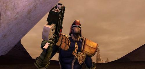 Dredd vrs. Death: He Is The Law   by Psycho Al