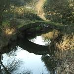 Clyne Valley river bridge