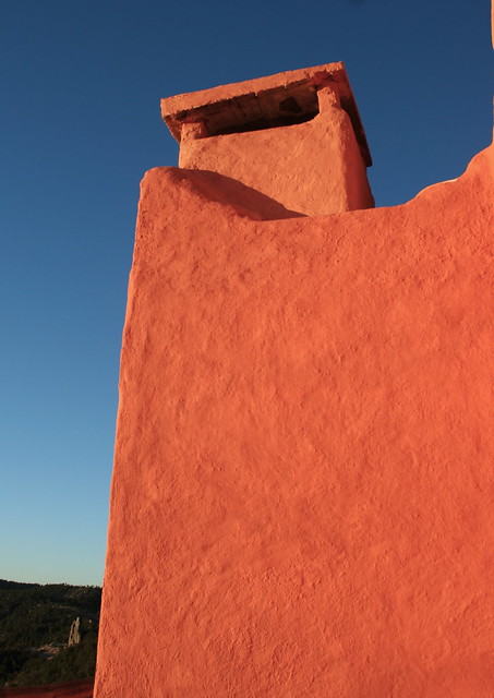 Hotel chimney at the Copper Canyon