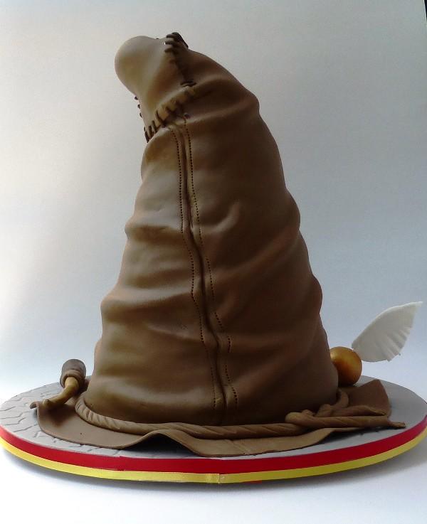 18th Birthday Sorting Hat Cake